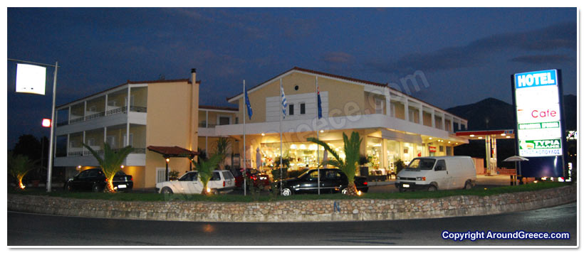 Hotels Kalo Nero Greece Messinia Peloponnese Aspasia Hotel Messinia Greece